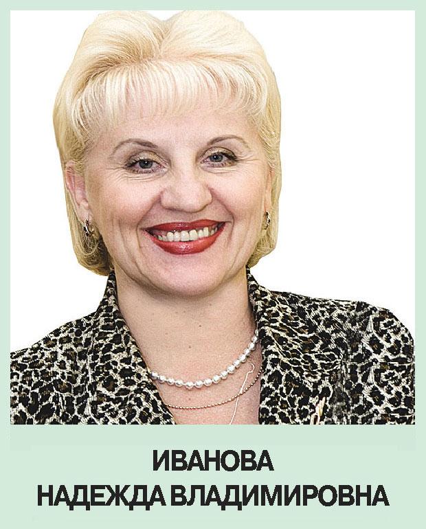 Иванова Надежда Владимировна