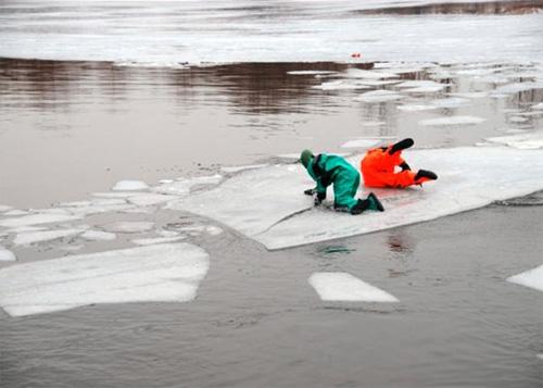 Поведение на льду весной картинки